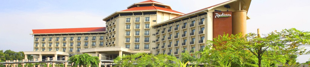 Radisson Water Garden Hotel, 9-storied building with basement 30,500m 2 floor area with other facilities
